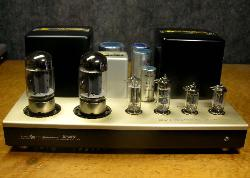 luxman 3045 tube amplifier without cage