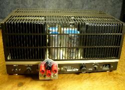 luxman 3045 tube amplifier mono with cage